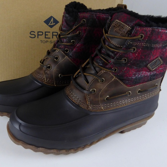 Sperry Decoy Shearling Duck Boots
